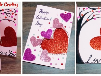 DIY Easy Valentine's Day Card. Beautiful Valentine's Day Card 2019. Handmade Gift for Boyfriend