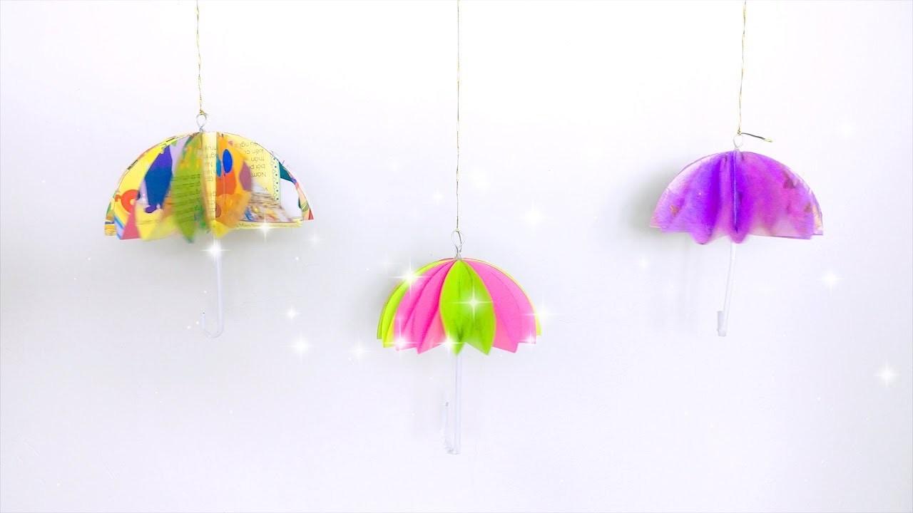 DIY Papar Craft   How to Make an Amazing Umbrella