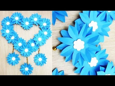 DIY Paper Craft. Paper Heart Design Valentine's Day and Room Decor Ideas. Easy Valentine's Crafts. ы