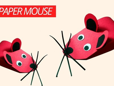 DIY Paper Mouse | Easy Things To Make Paper Mouse Craft