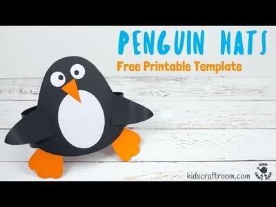 DIY Penguin Hat Craft