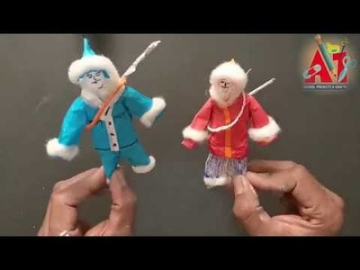 "DIY | School Projects | Craft Ideas :  ""How to make Eskimo"""