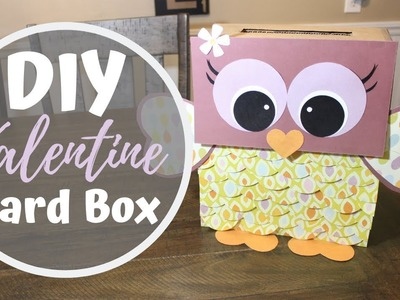 DIY VALENTINE CARD BOX | Craft Adventures