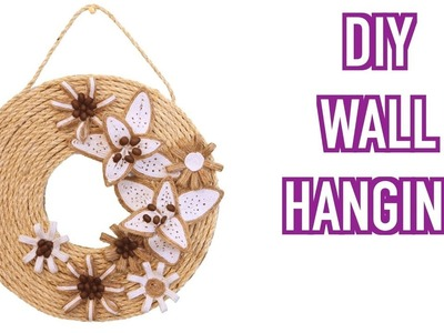 Handmade Wall Hanging for Home Decoration Art and Craft Ideas
