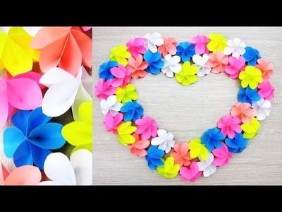 Decor Diy Paper Craft Paper Heart Design Valentines Day And Room