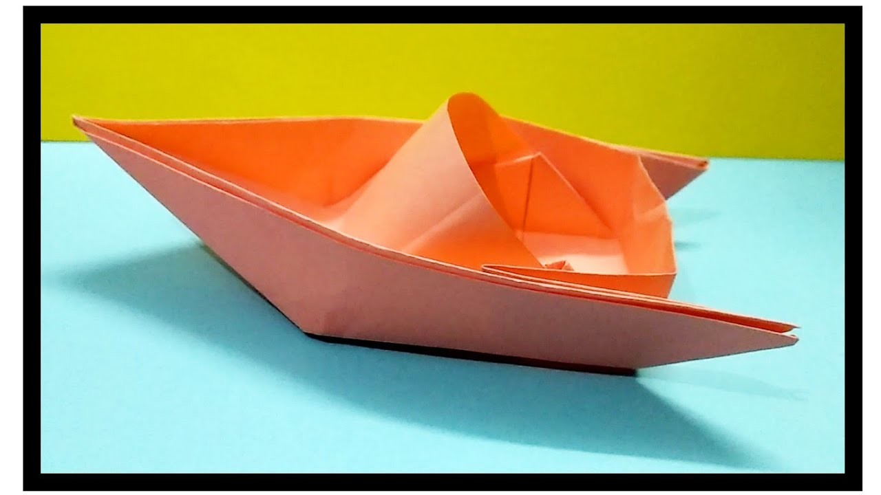Paper Boat Paper Craft Art And Craft Craft Videos Craft Ideas Easy