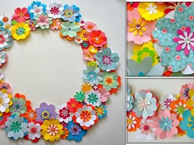 Paper.  DIY Craft || Wall Decor Craft Idea || DIY Room Decor || Handmade Things