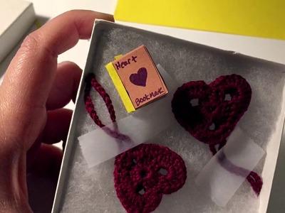 (( ASMR )) Craft Time : Tiny Book Decoration  ( Etsy Order )