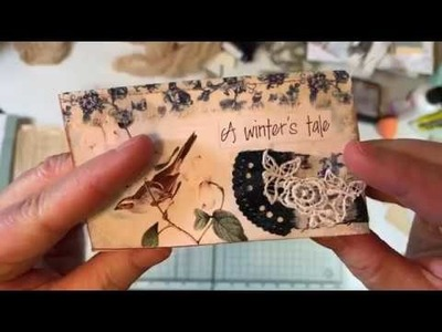 Craft with Me - A Tattered Dream Winter's Tale Ephemera