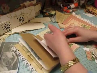 Craft With Me: More Page Decorating