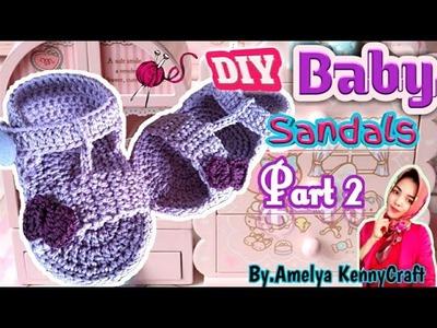 CROCHET || DIY Baby Flip sandals Tutorial part 2