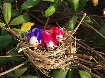 DIY Birds Nest | How to make a Bird Nest l Easy DIY Projects