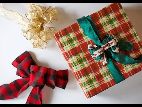 Diy How To Tie The Perfect Gift Bow Tutorial