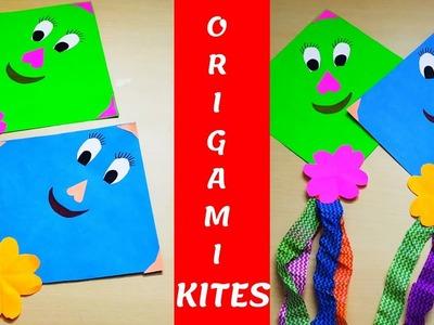 DIY MAKAR SANKRANTI.PONGAL KITE DECORATION || CARTOON KITES FOR KIDS|| KIDS READY TO FLY KITES???