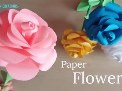 DIY Paper Flowers | Valentine's Special