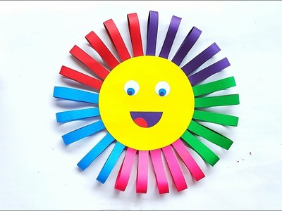 DIY Paper Sun || How to Make Easy Paper Sun || Paper Craft
