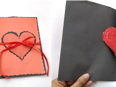 Diy Pop Up Heart Card For Valentine's Day | Handmade Pop Up Card