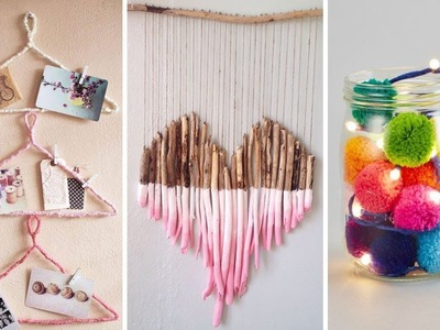 DIY ROOM DECOR MAKEOVER! 9 Amazing DIY Room Decorating Ideas for Teenagers 2019