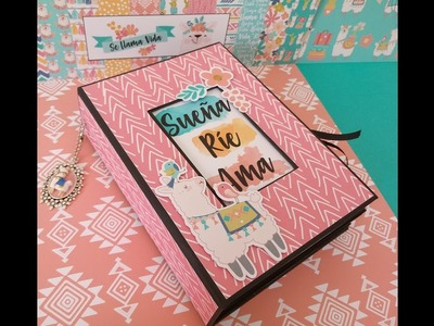 DIY scrapbook Album Se llama vida tutorial parte 1