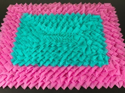 Doormat-Out-Of-Waste | Amazing-Craft-Idea