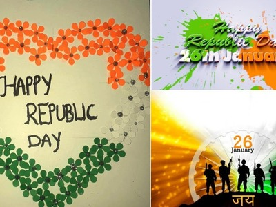 Easy DIY Republic day Card tutorial||