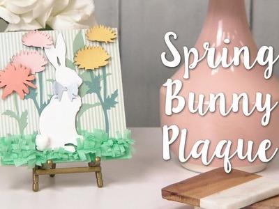 How to Make a Bunny Décor Piece! Beautiful Spring DIY