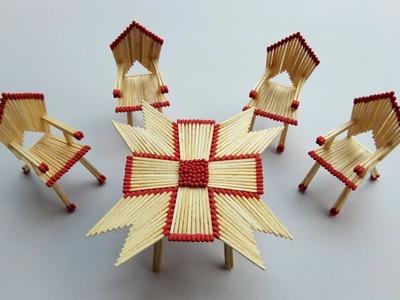 Matchstick Art and Craft Ideas | How to Make?