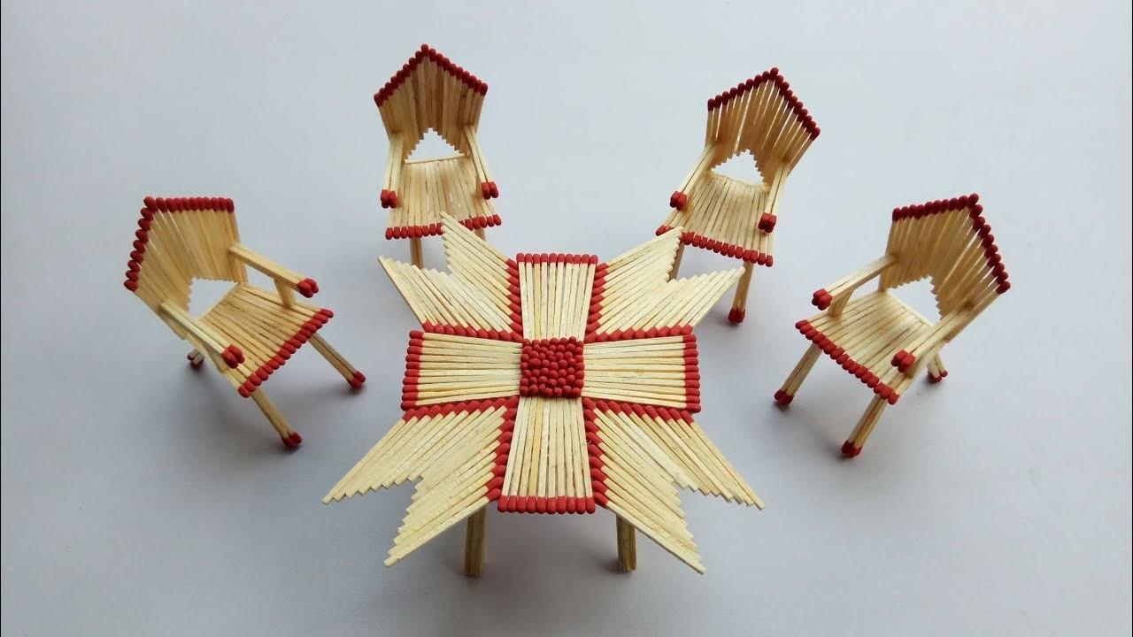 Matchstick Art And Craft Ideas How To Make