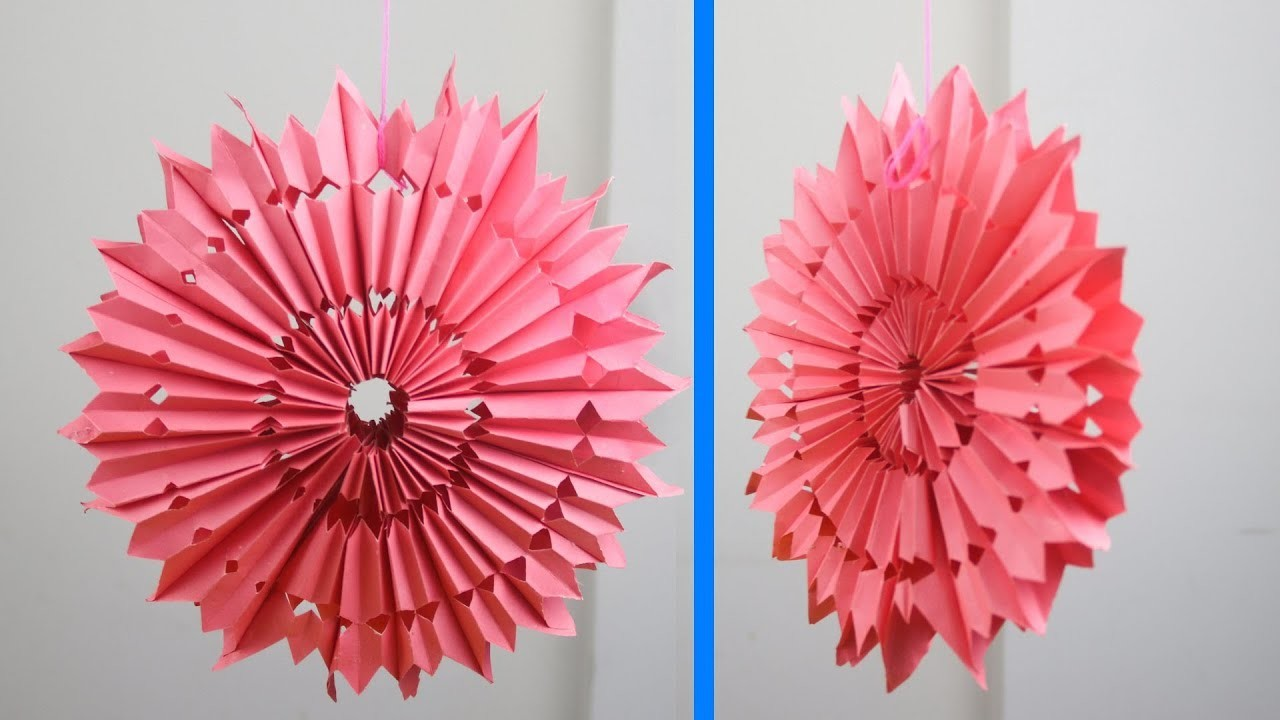 Paper Craft For Kids At Home Paper Decorations Wall Hanging