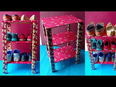 Shoes Stand ! Best Out Of Waste Organization idea | DIY Shoes Rack | How to make Shoes Rack