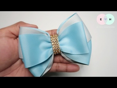 Simple Bow With DIY Bow Maker ???? Tutorial by Elysia Handmade