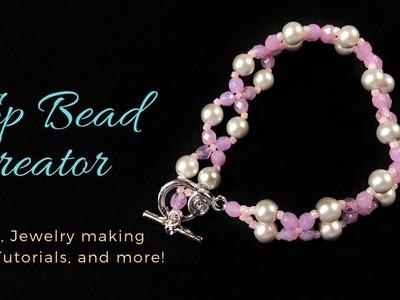 Super Easy to make bead Bracelet Tutorial, DIY Bracelet