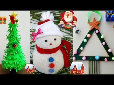 8 DIY Christmas Craft Ideas For Kids| Christmas Ornaments