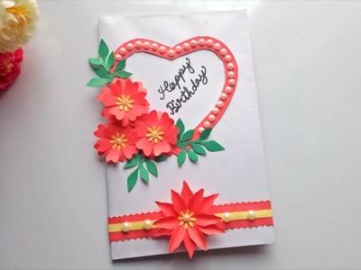 Beautiful Handmade Birthday card idea-DIY Greeting Cards for Birthday
