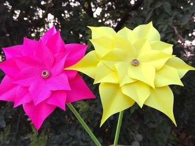 Flower Rupali Craft Crepe Paper Flowers Easy Flowers Idea