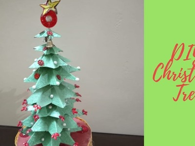 DIY Christmas Tree with Paper || Winter Craft Ideas || Little Learners Corner