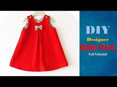 Diy Designer Baby Frock For 2 year baby girl Full Tutorial