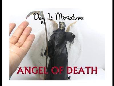 DIY Dollar Tree Skeleton Makeover 13 Days of Halloween 1: Angel of Death