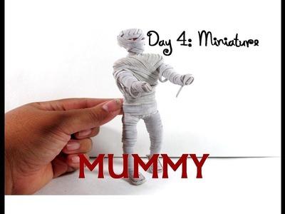 DIY Dollar Tree Skeleton Makeover 13 Days of Halloween 4: Mummy