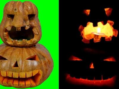 DIY Easy to Halloween Pumpkin Carving Tutorial | Halloween Pumpkin Video 2018