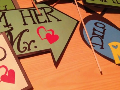 DIY | How to make wedding props| Tutorial| Kiran Latif