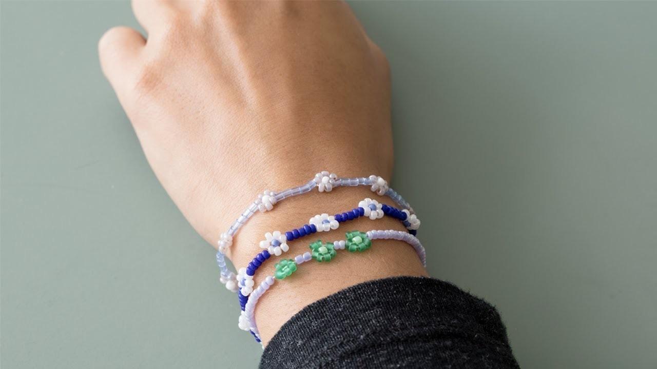 DIY : Make your own bead bracelets by Søstrene Grene