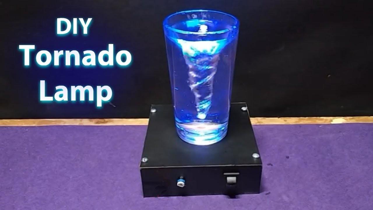 Diy Tornado Lamp Amazing Homemade Night Lamp Diy Cyclone Lamp