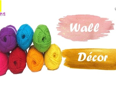 Diy Wool Decor Craft ideas | Wall decor ideas with wool | Best craft idea | Room decor ideas