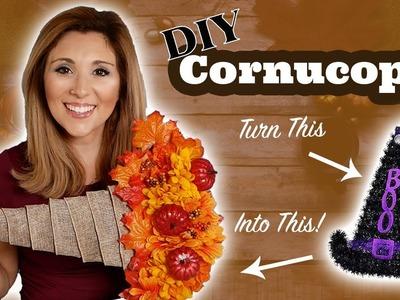 Easy DIY Cornucopia | Dollar Tree | Decor Tutorial | Episode 43