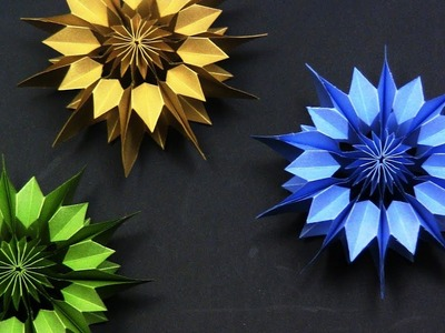 EASY DIY: Paper Snowflake DIY 3D - Yakomoga EASY DIY