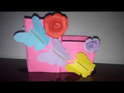 Easy Easy Pencil Holder Paper Pen Stand Ideas With Cardboard