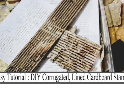 Easy Tutorial: DIY Corrugated Stamp