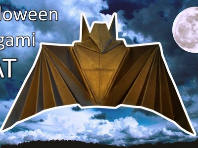 Hallowen Origami Bat   DIY