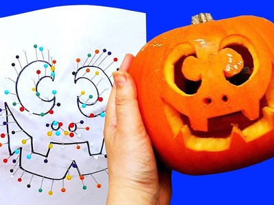 How To Carve 5 Halloween Pumpkins   Pumpkin Carving Tips And Tricks    Craft Factory